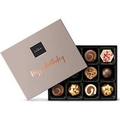 Hotel Chocolat Happy Birthday Chocolate Gift Box