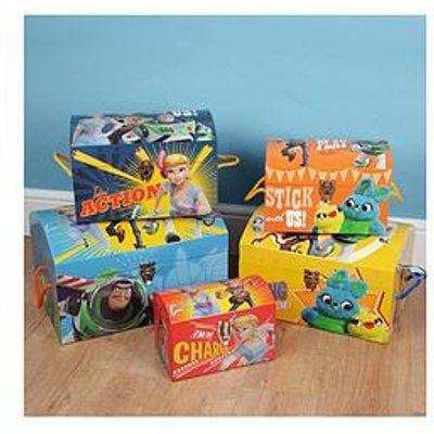Disney Toy Story 4 Set Of 5 Storage Trunks