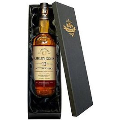 Signature Gifts Personalised 12 Year Old Whiskey In Gift Box