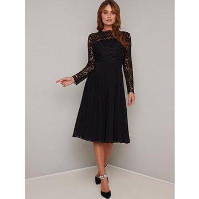 Chi Chi London Naarenya Dress - Black