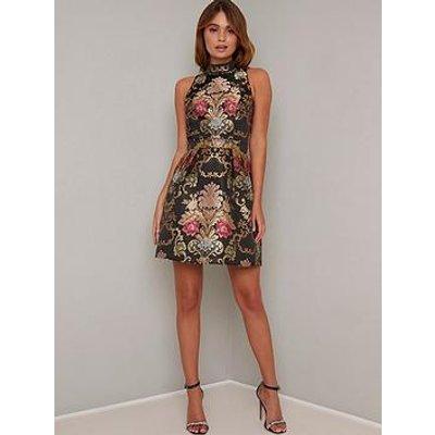 Chi Chi London Amberlya Dress - Black