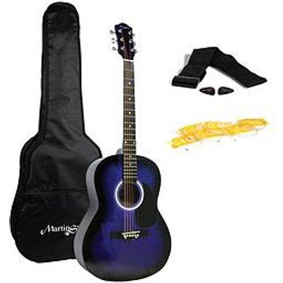 Martin Smith Martin Smith W-100 Full-Size Acoustic Guitar (Blue)