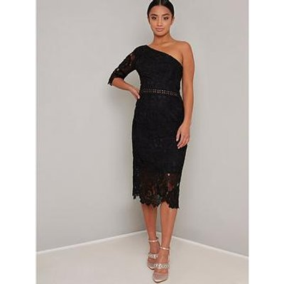 Chi Chi London Petite Kora Dress - Black