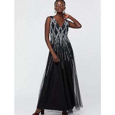 Monsoon Marnie Embellished Maxi Dress