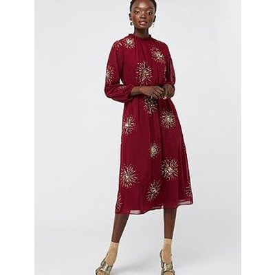 Monsoon Monsoon Aurelie Embellished Starburst Midi Dress