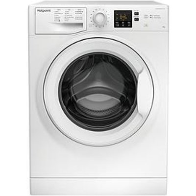 Hotpoint Nswm843Cwukn 8Kg Load, 1400 Spin Washing Machine - White