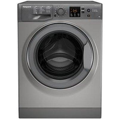 Hotpoint Nswm843Cggukn 8Kg Load, 1400 Spin Washing Machine - Graphite
