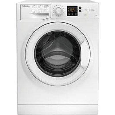 Hotpoint Nswm943Cw 9Kg Load, 1400 Spin Washing Machine - White