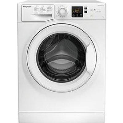 Hotpoint Nswm1043Cwukn 10Kg Load, 1400 Spin Washing Machine - White