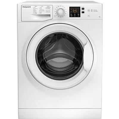 Hotpoint Nswm743Uw 7Kg Load, 1400 Spin Washing Machine - White