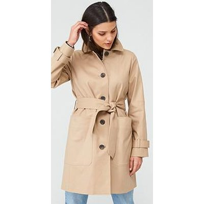 Whistles Classic Trench Coat - Neutral
