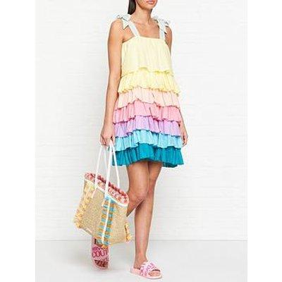 Pitusa Pinata Tiered Dress - Multi