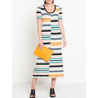 Kenzo Bodycon Stripes Dress - Multi
