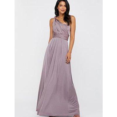 Monsoon Tallulah Twist Me Tie Me Jersey Dress - Mocha