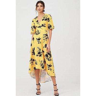 V By Very Short Sleeve Prom Dress - Print