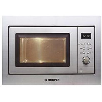 Hoover H-Microwave 100 Hm20Gx Integrated 20L Microwave With Grill - Stainless Steel - Microwave With Installation