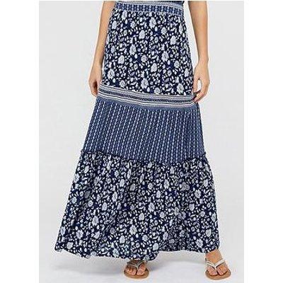 Monsoon Farrah Jersey Ecovero Maxi Skirt