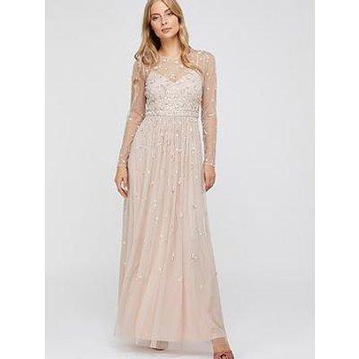 Monsoon Selina Long Sleeve Maxi Dress