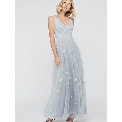 Monsoon Clemence Embroidered Maxi Dress