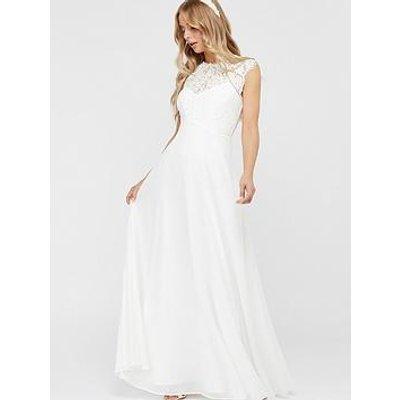 Monsoon Lilian Bridal Lace Maxi Dress - Ivory