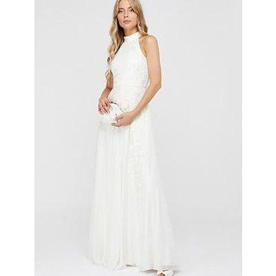 Monsoon Monsoon Ethel Bridal Emb Halter Maxi Dress
