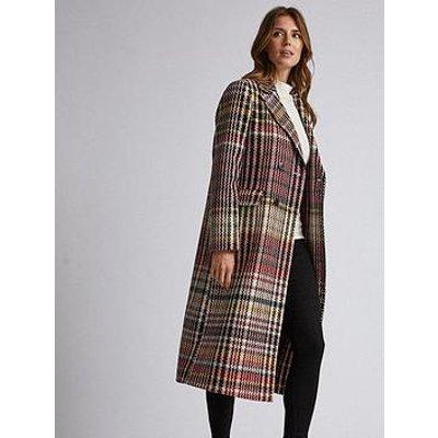 Dorothy Perkins Check Coat - Multi
