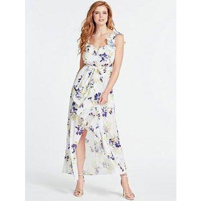 Guess Isabella Floral Print Dress - White