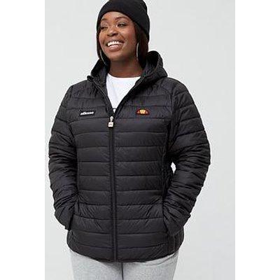 Ellesse Heritage Lompard Padded Jacket (Curve) - Black