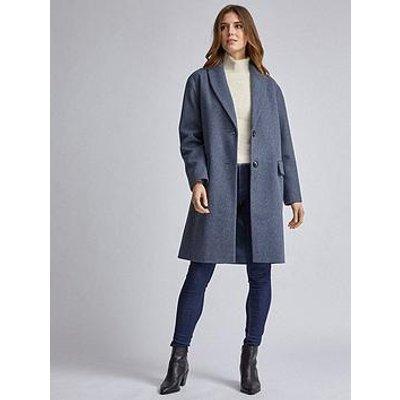 Dorothy Perkins Dorothy Perkins Shawl Coat - Blue