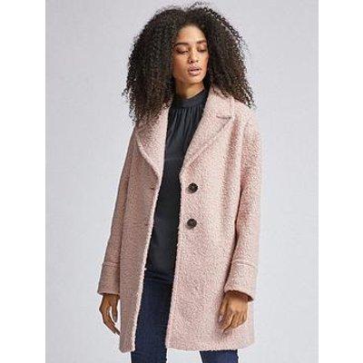 Dorothy Perkins Boucle Coat - Pink