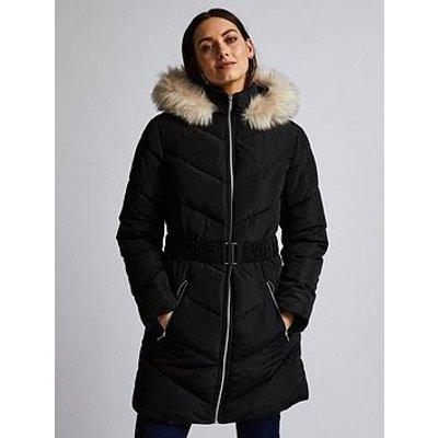 Dorothy Perkins Dorothy Perkins Luxe Short Padded Jacket - Black