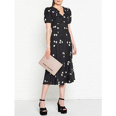 Marc Jacobs The Love Daisy Midi Dress - Black
