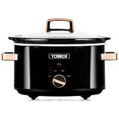 Tower T16018Rg 3.5L Slow Cooker - Rose Gold