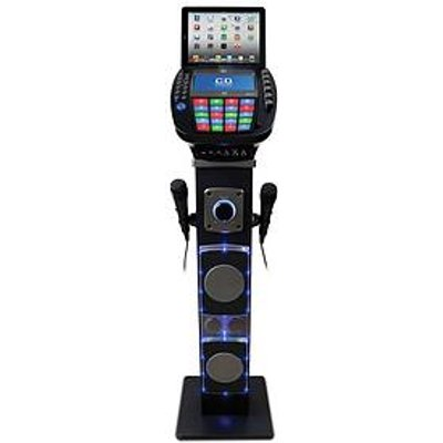 Easy Karaoke Easy Karaoke Bluetooth System With Speaker Pedestal