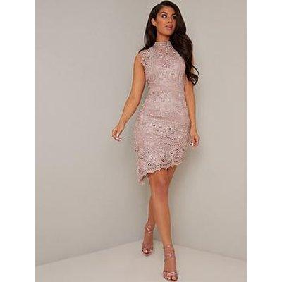 Chi Chi London Kellen Dress - Mink