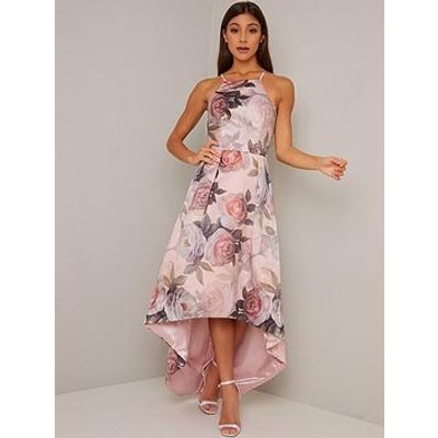 Chi Chi London Shantal Dress - Mink