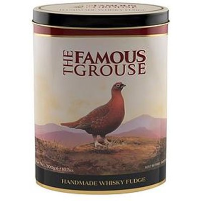 Famous Grouse Whisky Fudge Tin - 300G