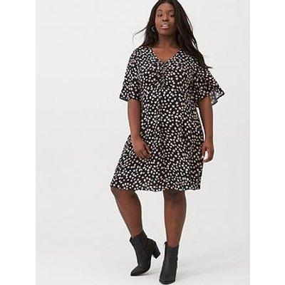 V By Very Curve Ditsy Print Tea Dress - Ditsy Print