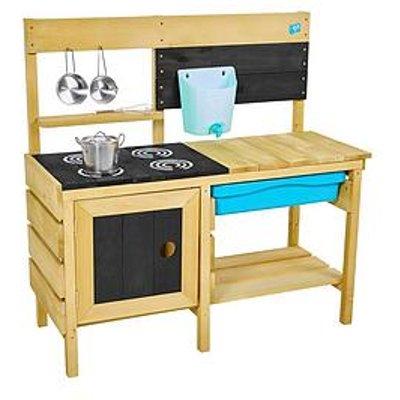 Tp Deluxe Wooden Mud Kitchen