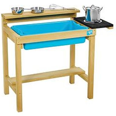 Tp Early Fun Wooden Mud Kitchen