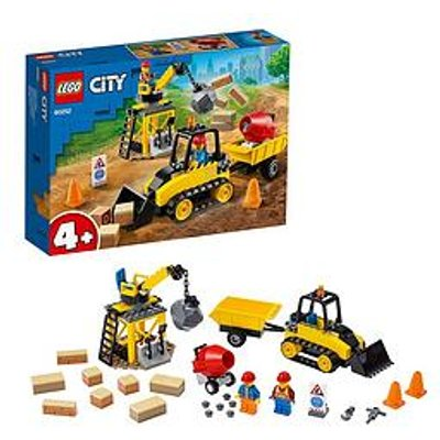 Lego City 60252 Construction Bulldozer Building Set