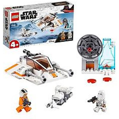 Lego Star Wars 75268 4+ Snowspeeder, Defence Station And Speeder Bike