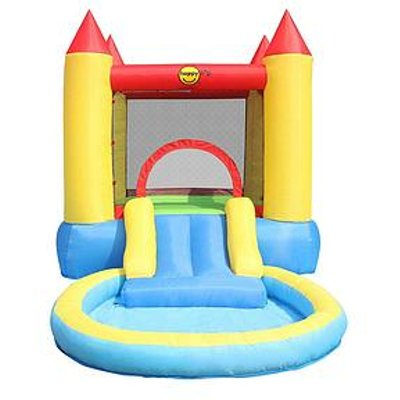 Happy Hop Bouncy Castle With Pool &Amp; Slide