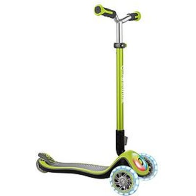 Globber Elite Prime Scooter - Lime