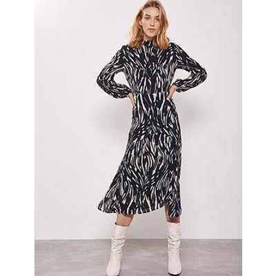 Mint Velvet Sara Print Midi Dress