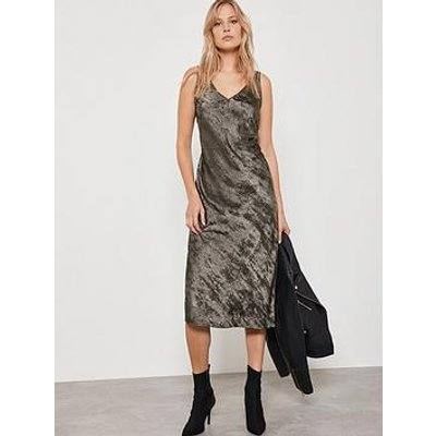 Mint Velvet Shimmer Slip Dress