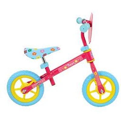 Peppa Pig 10 Inch Balance Bike