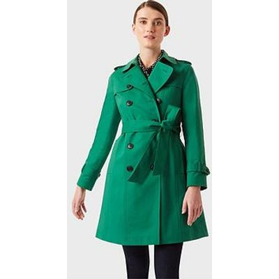 Hobbs Saskia Trench - Green