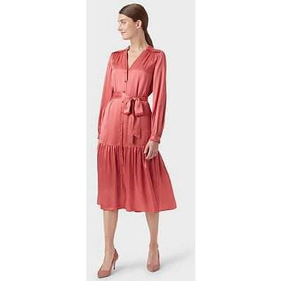 Hobbs Esther Dress - Pink