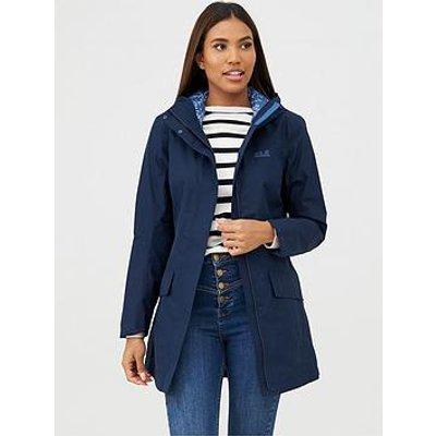 Jack Wolfskin Cape York Coat - Navy